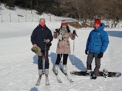 Skifahren am 31.12.2012 in Shenyang Guai Po