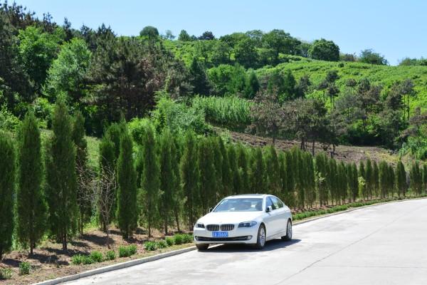 BMW 535Li. Hergestellt von BBA.